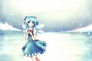 :Ice lake: by Kawchii