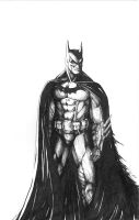 Batman by JusDrewIt