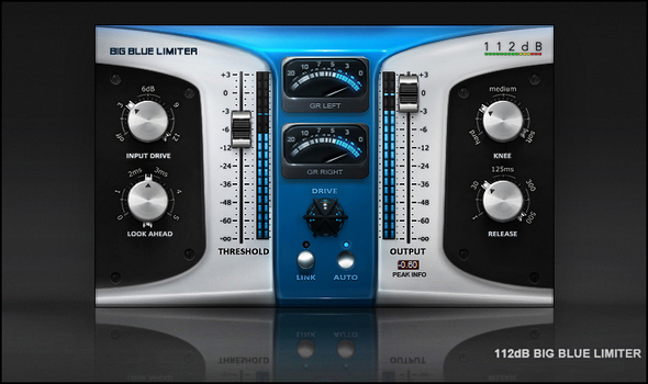 112dB Big Blue Limiter skin by ScottKaneGUIs