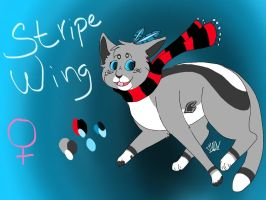 StripeWing /contest entry, ipad by Hi-TuVy