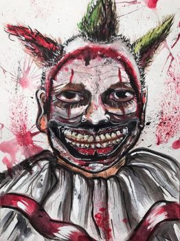 Twisty the Clown by DEES-NUTS-NO-MO
