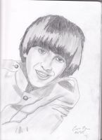 George Harrison by The-Girl-Who-Waited