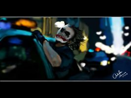 The Joker - Taste of Freedom by King-Arsalan-Monawar