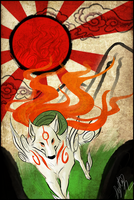 Okami-The World We Live In by Drasisicgon