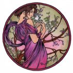 Months - May by Mucha by AnnaSulikowska