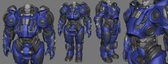 Starcraft 2 marine inspiration by aesis412