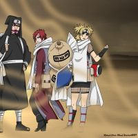 Naruto - Siblings of the Sand by Xpand-Your-Mind