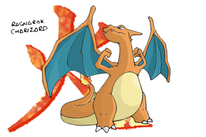 Number 006 - CHARIZARD by Skyblufox