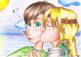 A little more Astrid x Hiccup by Mariya14