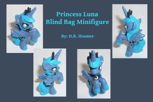 Custom Princess Luna Blind Bag by Gryphyn-Bloodheart
