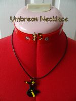 Umbreon Necklace by CynicalSniper