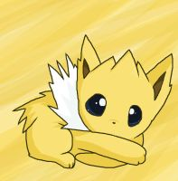 Jolteon by moonwaveumbreon
