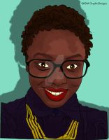 Christina Pop Illustration by KDMGraphicDesigns
