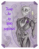 1000 pageviews by Violette-Aner