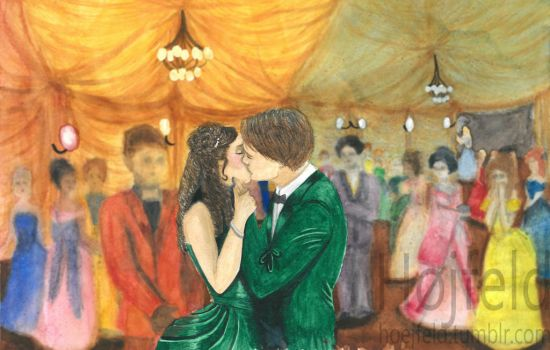 The Night Circus, kiss by Hoejfeld