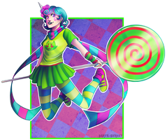 Trickster Roxy by Darth-Serket