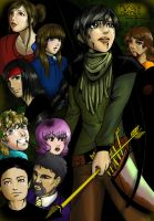 Hunger games colored by dracaena-akira