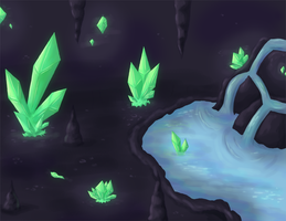 Obsidian Cave by Rika-of-Thunder