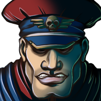 Street Fighter 2 - M. Bison by EdMoffatt