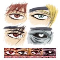 Akatsuki Eyes by jmk1999