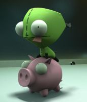 Gir Action Figure 3d by LadyShogu