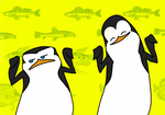 Penguin dance -GIF- by MariaMarcuu