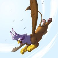 Free Flying by kevinsano