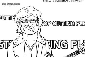 Stop Cutting Please by CheifJay