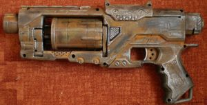Nerf Spectre , postapocalyptic Paintmod by Eckaaat