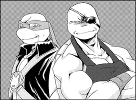 Ossan-Raph and Ossan-Leo by FREAKfreak