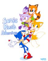 Sonic rush adventure by 415sonic