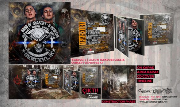 Sons OF Anarchy - Gerceklik by BossmanGraphic