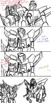 the starscreams paradox by Underbase