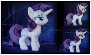 Trade: Rarity Custom Plush by Nazegoreng