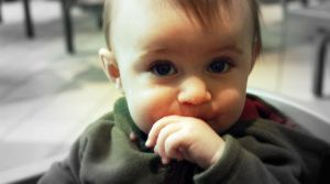baby brother chase eatting by SJDFGTK3