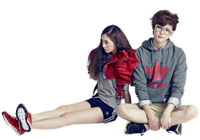 Render  Krystal Jung [ f(x) ] and Jong Suk Lee by UdsonDollySarah