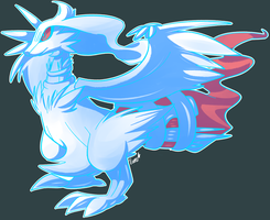 Reshiram by LegendWaker