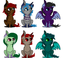 Inky Adopts (closed) by WaterLillyHearts