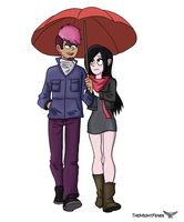 Gravitty Falls Genderbend - Robin and .... by TheMightFenek