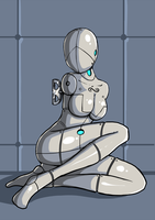 Robot Girl by argrim