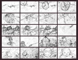 Storyboards by Khylov
