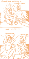Beck Beck Scawed - A Dumb, Sketchy Comic by AliceKaninchenbau