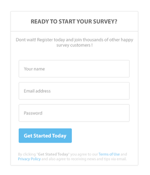 Simple Signup Form by harmonikas996