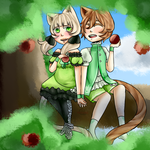 [Commission] Treetop Snack by yukicole02
