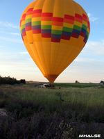 Balloon Take Off by MHalse