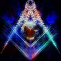 Masonic Symbol - Floating by SpiritAndLight