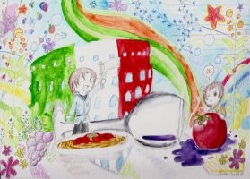 Italy and Romano's Still Life by Naria-Jewel
