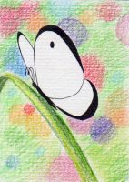 my very first ACEO card by JulLoy