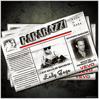 Lady GaGa - Paparazzi CD Cover by GaGanthony