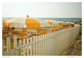 yellow Beach II by MarioDellagiovanna
